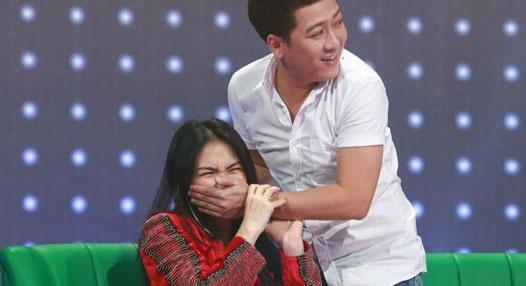 Nhung man doi dap di dom cua Hoa Minzy khien Truong Giang bo tay hinh anh