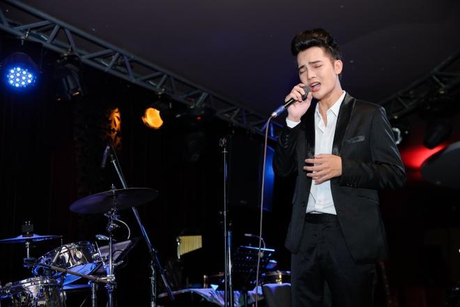 Tuan Phuong X Factor tro lai sau thoi gian ngung ca hat vi me ung thu hinh anh