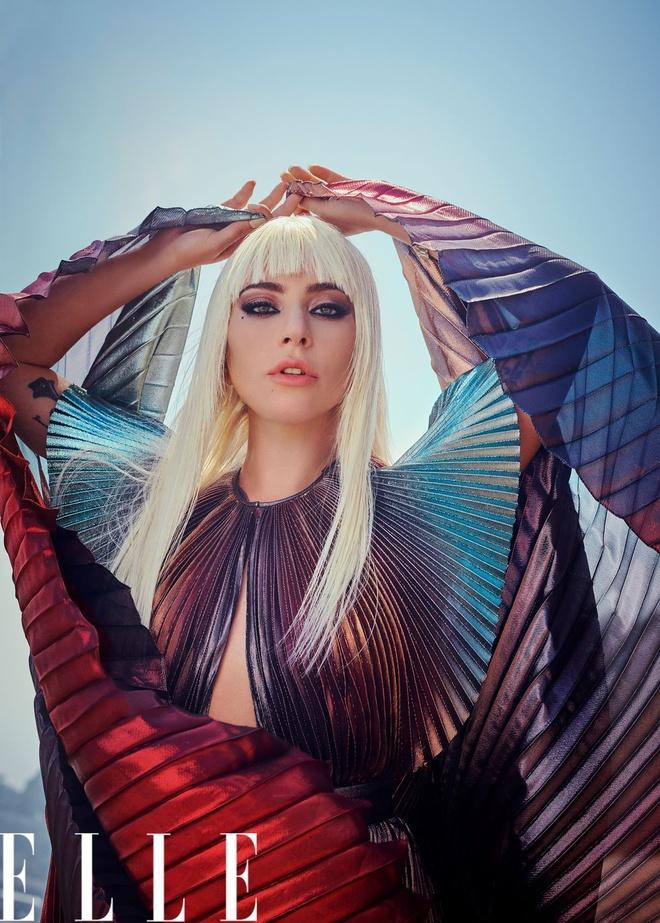 'Me quy' Lady Gaga lot xac, ban nude trong bo anh moi hinh anh 2