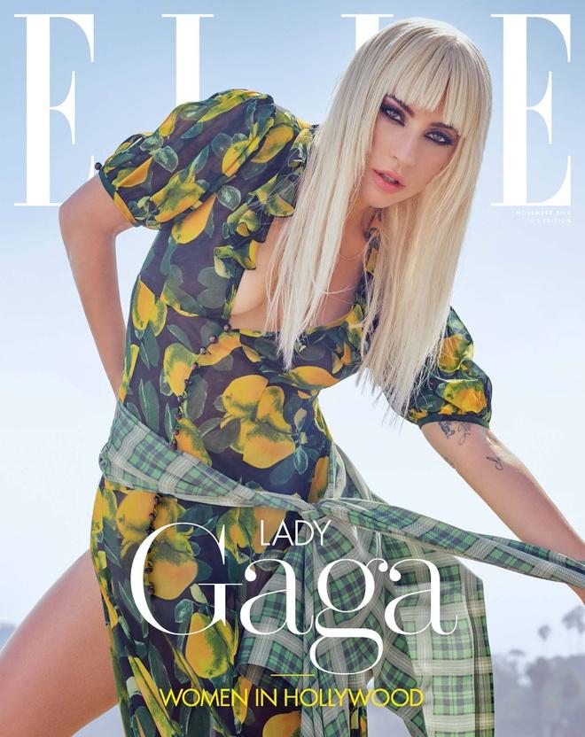'Me quy' Lady Gaga lot xac, ban nude trong bo anh moi hinh anh 1