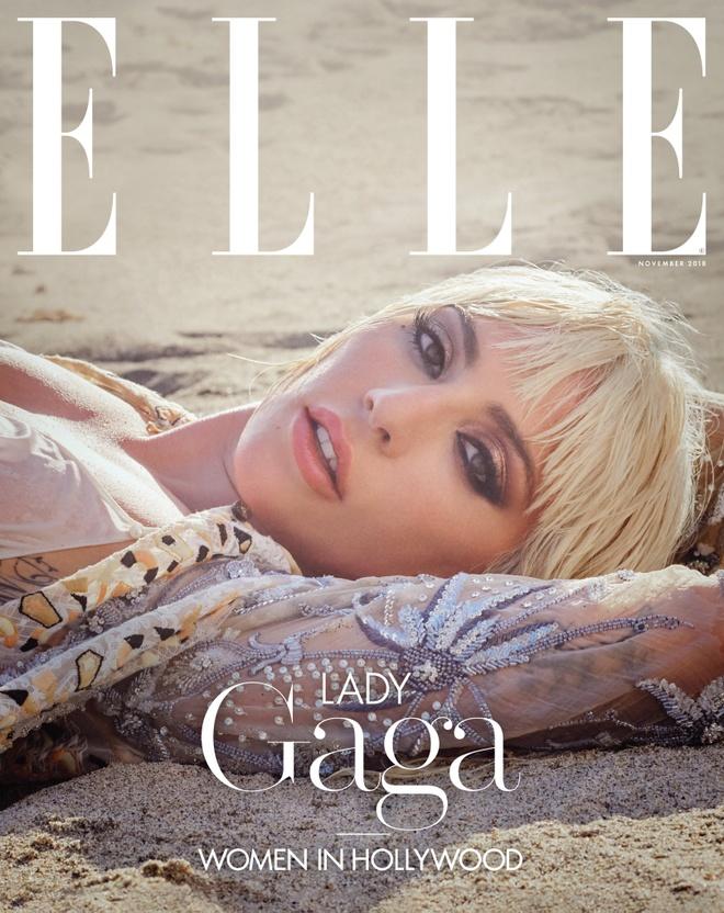 'Me quy' Lady Gaga lot xac, ban nude trong bo anh moi hinh anh 4