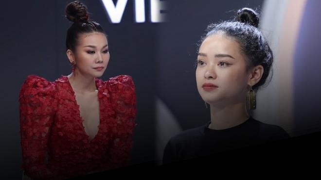 Thi sinh doi Minh Hang bat ngo xin ra ve tai vong loai tru The Face hinh anh