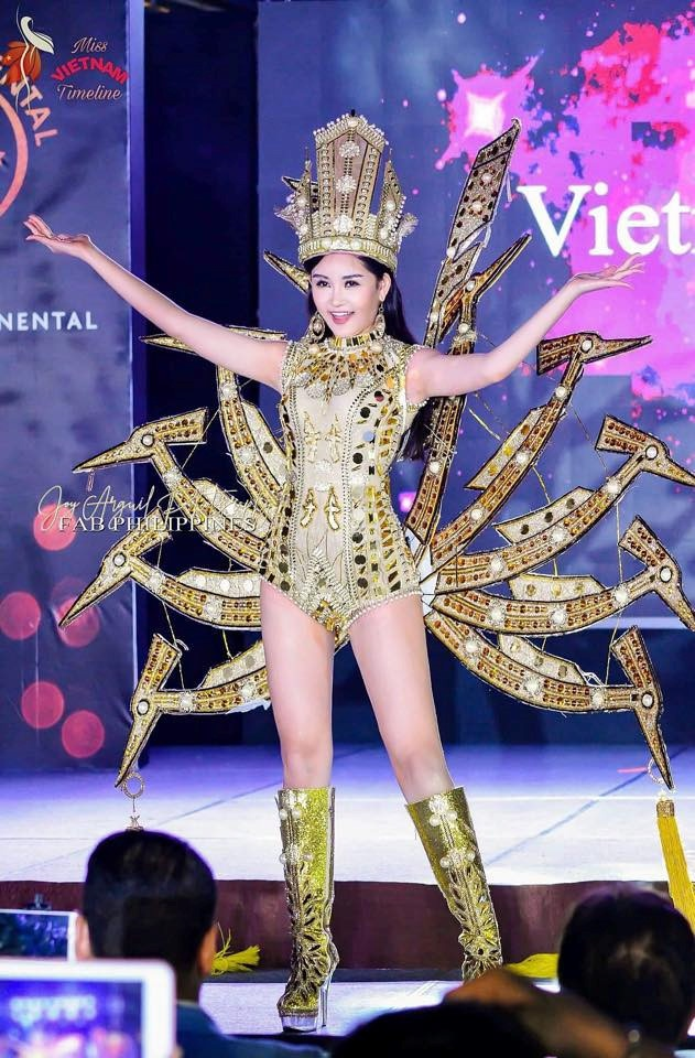 Le Au Ngan Anh tu hoa hau thi phi den a hau 4 Miss Intercontinental hinh anh 7