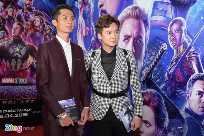 Quang Hai, Huynh Lap va dan sao Viet do bo tham do 'Avengers: Endgame' hinh anh 9