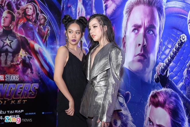 Quang Hai, Huynh Lap va dan sao Viet do bo tham do 'Avengers: Endgame' hinh anh 10