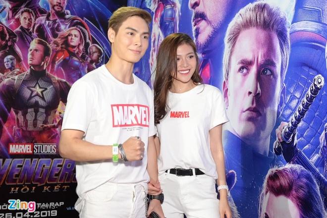 Quang Hai, Huynh Lap va dan sao Viet do bo tham do 'Avengers: Endgame' hinh anh 5