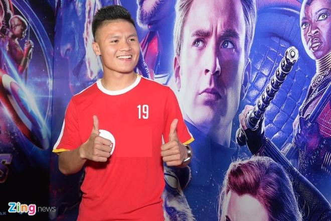 Quang Hai, Huynh Lap va dan sao Viet do bo tham do 'Avengers: Endgame' hinh anh 1