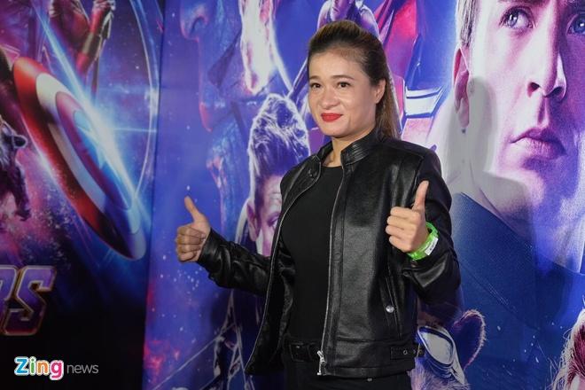 Quang Hai, Huynh Lap va dan sao Viet do bo tham do 'Avengers: Endgame' hinh anh 6