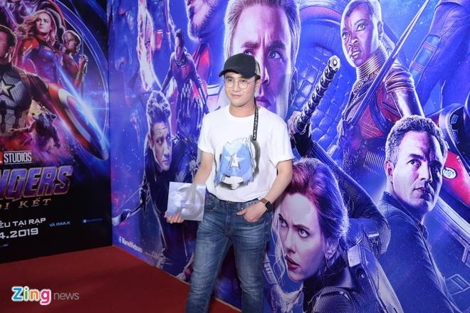 Quang Hai, Huynh Lap va dan sao Viet do bo tham do 'Avengers: Endgame' hinh anh 2