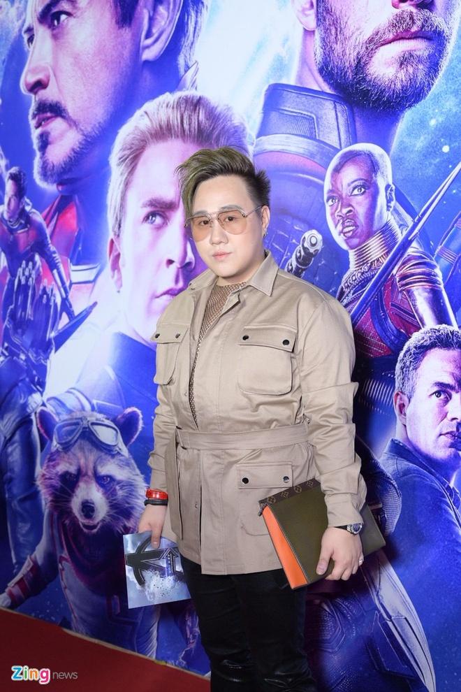 Quang Hai, Huynh Lap va dan sao Viet do bo tham do 'Avengers: Endgame' hinh anh 4