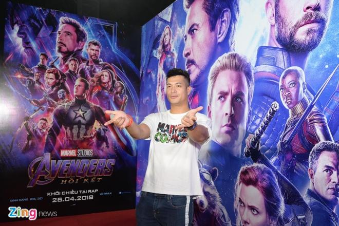 Quang Hai, Huynh Lap va dan sao Viet do bo tham do 'Avengers: Endgame' hinh anh 3