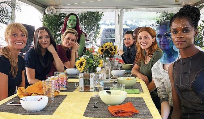 10 anh hau truong 'Avengers: Endgame' an tuong nhat hinh anh 6