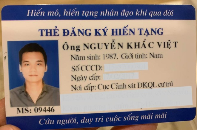 Ca si Khac Viet dang ky hien tang sau khi qua doi hinh anh 1