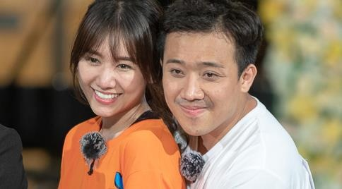 Hari Won hua tang luong cho Tran Thanh neu de vo xe bang ten hinh anh