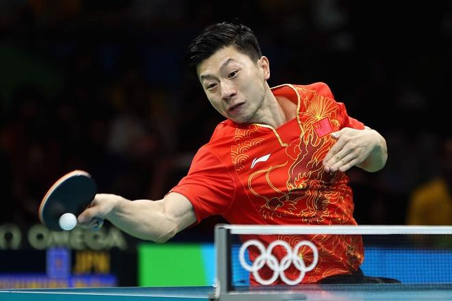 Trung Quoc thau tom toan bo HCV bong ban Olympic hinh anh