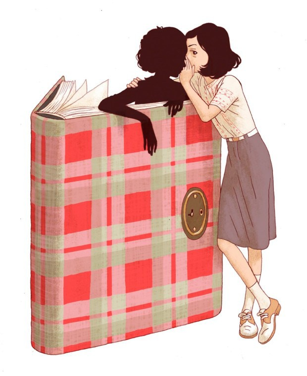 Chiem nguong ban sach tranh tuyet dep cua 'Nhat ky Anne Frank' hinh anh 6