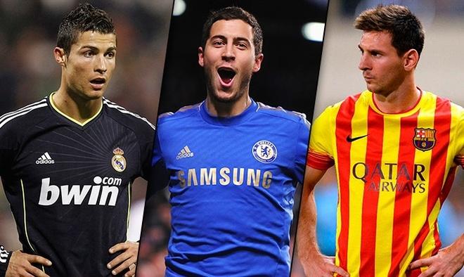 Pedro: Hazard se dat den dang cap cua Messi hinh anh