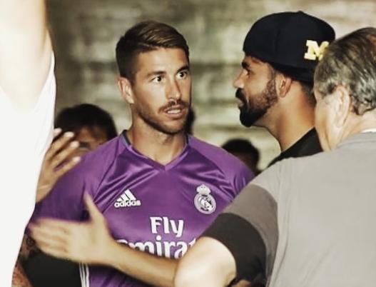 Sergio Ramos lam lo tuong lai cua Diego Costa hinh anh 1