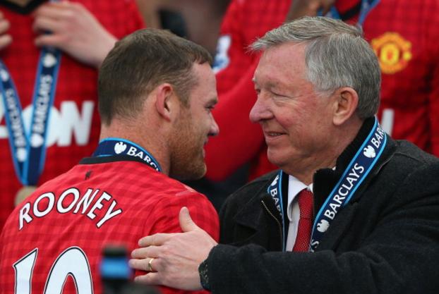 Sir Alex Ferguson ca ngoi Rooney la cau thu vi dai hinh anh 1