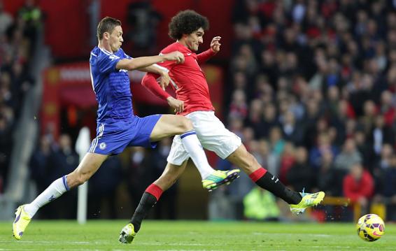 Fellaini duoi thoi Mourinho: Matic phien ban toc xu hinh anh