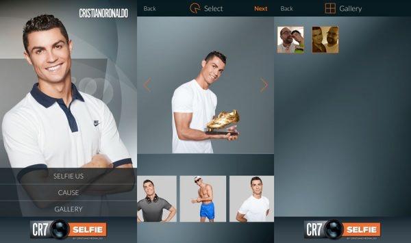 Ung dung selfie duoc ra mat boi Cristiano Ronaldo hinh anh 2