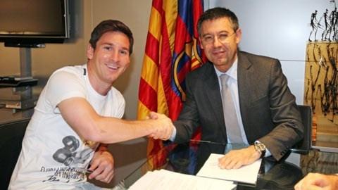 Barcelona chuan bi gia han hop dong voi Messi hinh anh