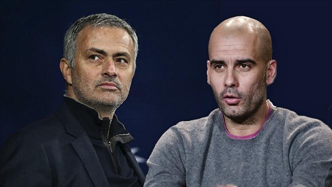 Derby Manchester: Batman Mourinho va Superman Guardiola hinh anh 1