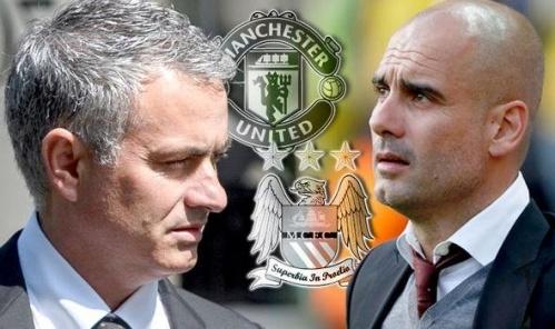 Derby Manchester: Batman Mourinho va Superman Guardiola hinh anh 2