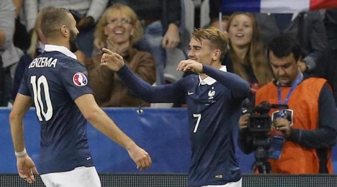 Antoine Griezmann phu nhan hiem khich voi Benzema hinh anh 1
