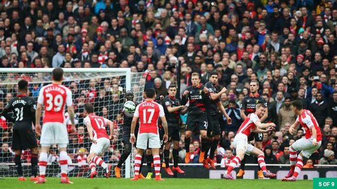 Nhung khoanh khac dep nhat cua Ozil tai Arsenal hinh anh 4