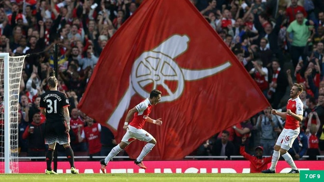 Nhung khoanh khac dep nhat cua Ozil tai Arsenal hinh anh 6