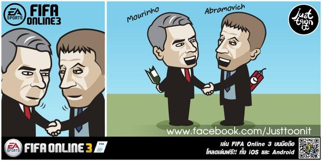 Hi hoa Conte cung Chelsea dap vo xe bus cua Mourinho hinh anh 4