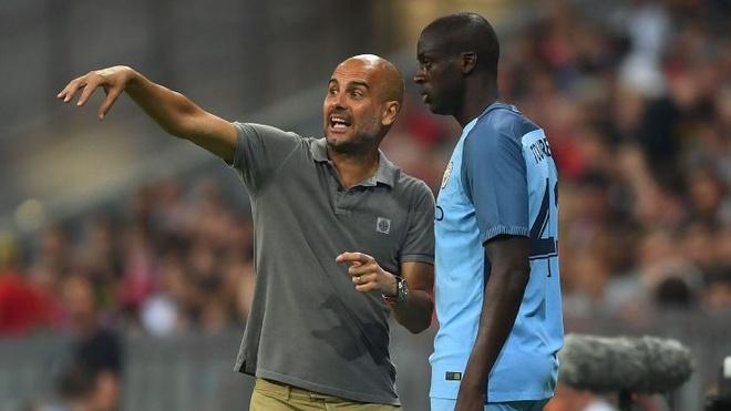 Pep Guardiola rong luong tha thu cho Yaya Toure hinh anh 1