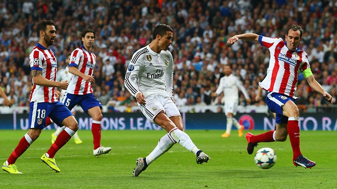 Derby Madrid dang tro thanh noi am anh voi Ronaldo hinh anh 1