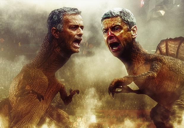 Wenger da loi thoi, Mourinho con lac hau hon hinh anh