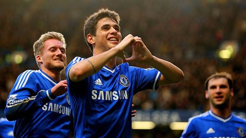 10 khoanh khac dep nhat cua Oscar trong mau ao Chelsea hinh anh 3