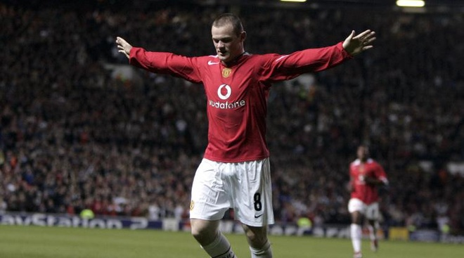 Thang tram cua Rooney trong mau ao Quy do hinh anh 2