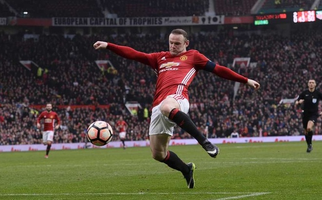 Thang tram cua Rooney trong mau ao Quy do hinh anh 21