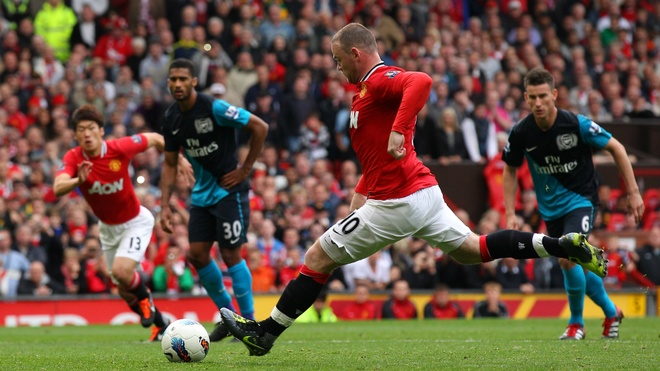 Thang tram cua Rooney trong mau ao Quy do hinh anh 14
