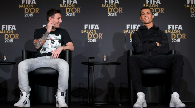 Ronaldo so sanh voi Messi anh 1