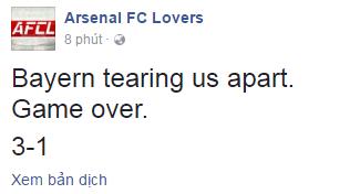 Fan Arsenal phan no vi doi nha that bai tham hai hinh anh 1