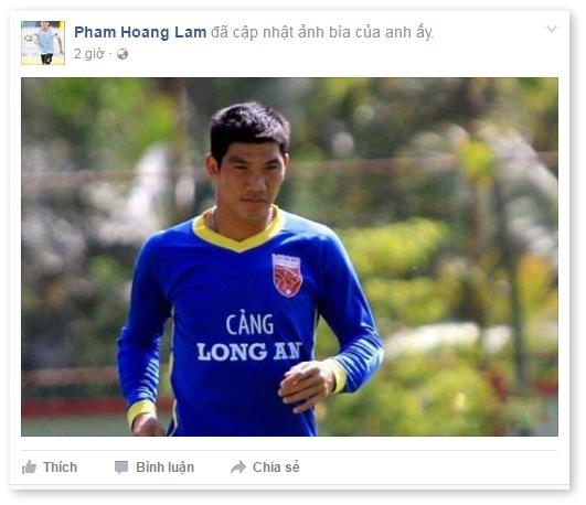 An phat Minh Nhut CLB Long An anh 1