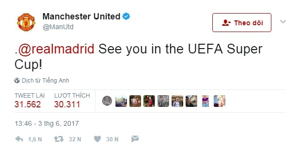 Manchester United hen ngay thach dau Real Madrid hinh anh 1
