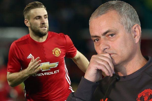 Jose Mourinho cho Luke Shaw co hoi cuoi cung hinh anh