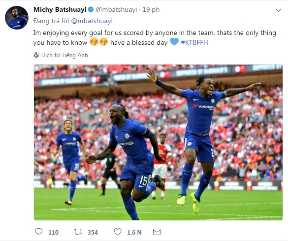 Batshuayi bi fan Chelsea si va vi 'cuoi deu' Morata hinh anh 7