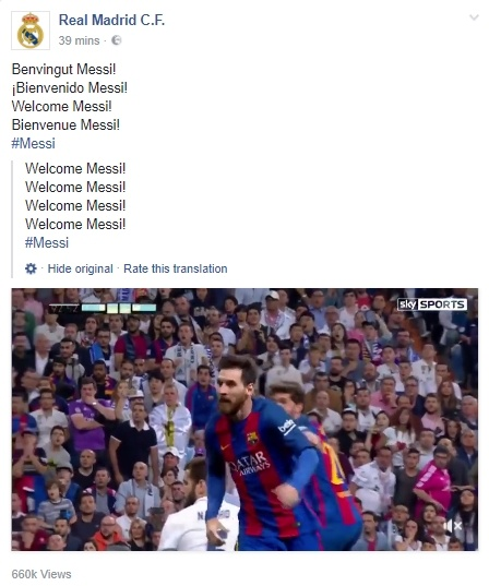 Real Madrid bat ngo chao don Lionel Messi hinh anh 1