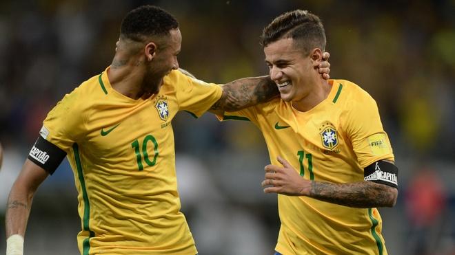 Neymar va Coutinho la fan Real Madrid dich thuc hinh anh