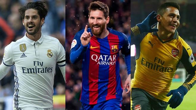 Messi va Sanchez linh xuong doi hinh mien phi he nam sau hinh anh