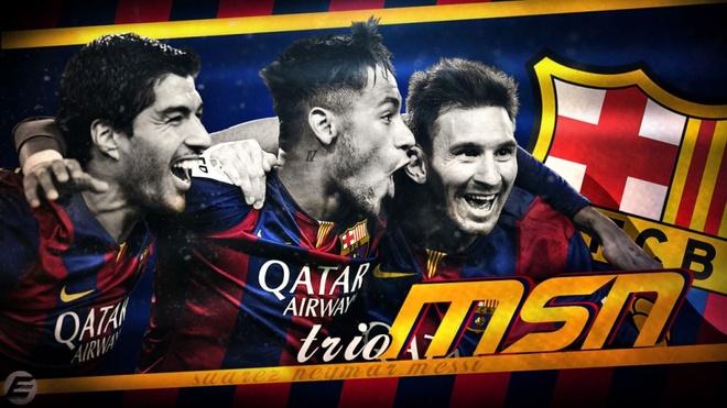 Messi, Suarez, Neymar: Khoi nguon tam tau sieu dang hinh anh