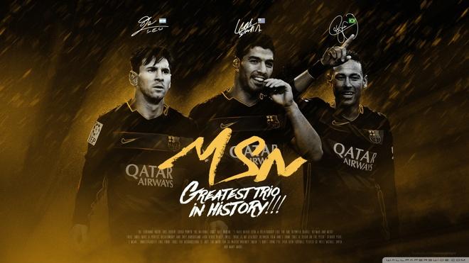 'Tam tau' Messi, Suarez, Neymar: Thoi khac cua nhung thien tai hinh anh
